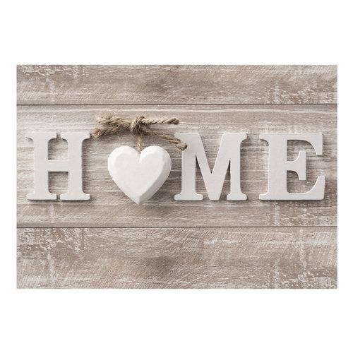 Fotobehang - Home op hout , houtlook