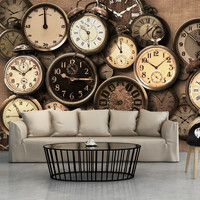 Fotobehang - Oude klokken