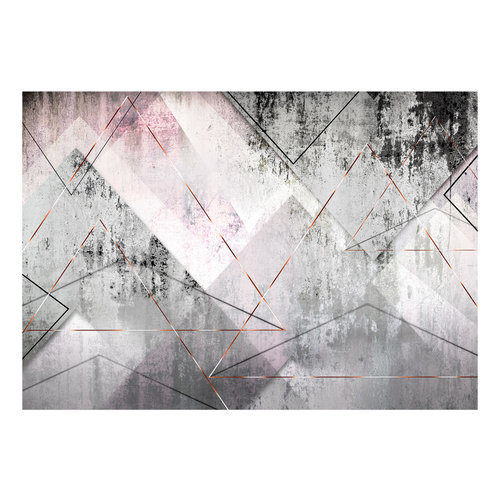 Fotobehang - Driehoekige Perspectief