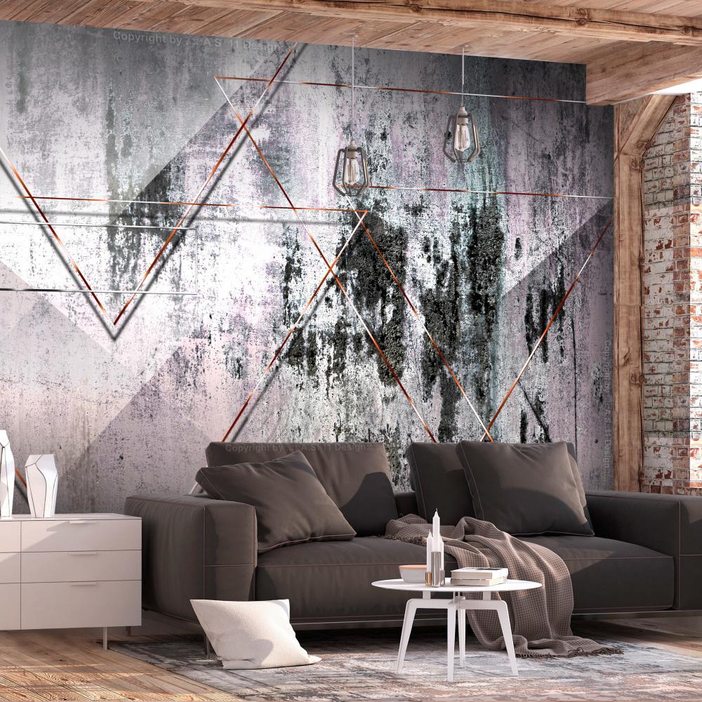 Fotobehang - Geometrische Muur