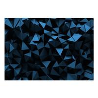 Fotobehang - Blauwe Dieptes