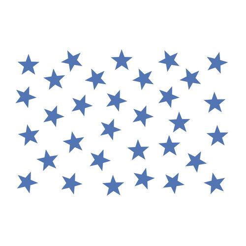 Fotobehang -  Blauwe sterren