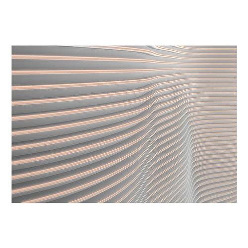 Fotobehang -Golvende strepen