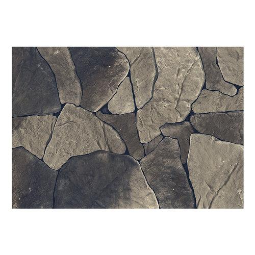 Fotobehang - Baltisch Bruin , rotsblokken