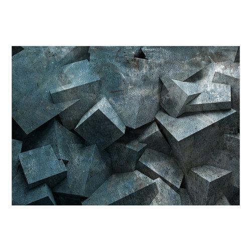 Fotobehang - Lawine van steen