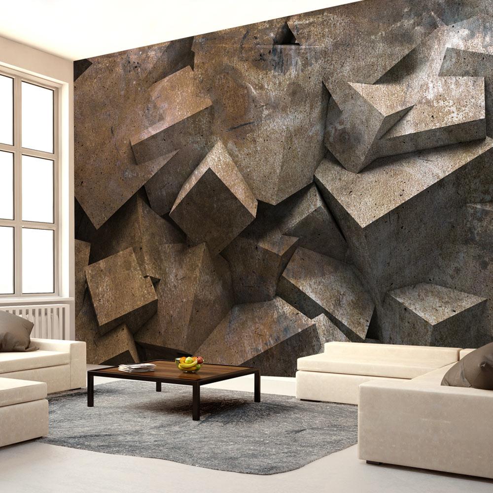 Fotobehang - Stappen van steen