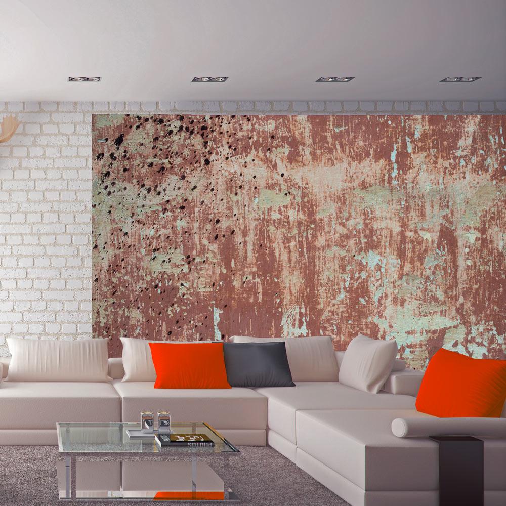 Fotobehang - Roze beton