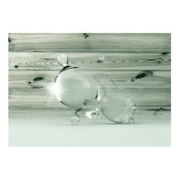 Fotobehang -Licht in waterdruppels II