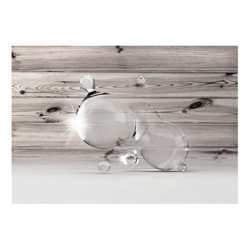 Fotobehang -Licht in waterdruppels