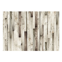 Fotobehang -Lichte planken