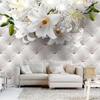 Fotobehang - Elegante Lelie, premium print vliesbehang