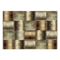 Fotobehang -Metalen platen