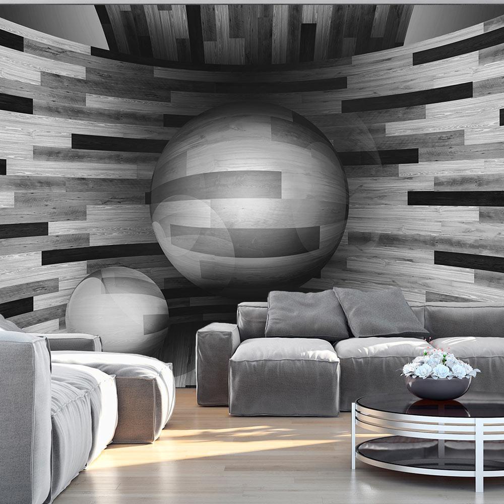 Fotobehang - Gray sphere