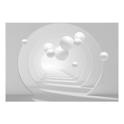 Fotobehang - 3D Tunnel