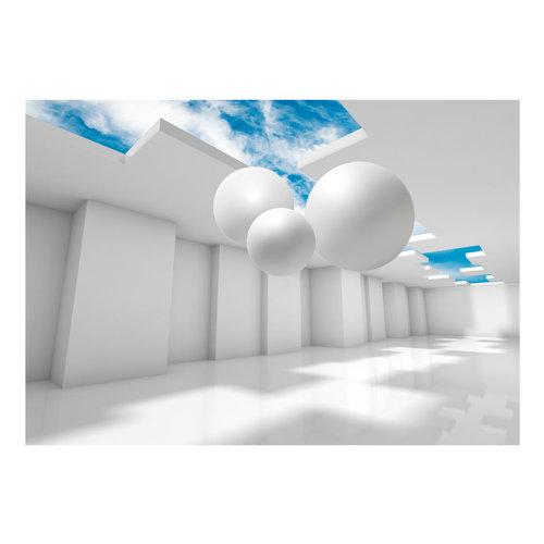 Fotobehang -Architectuur van de Toekomst