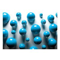 Fotobehang - Blauwe Ballen
