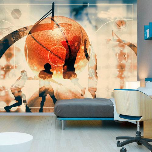 Fotobehang - Liefde voor basketbal