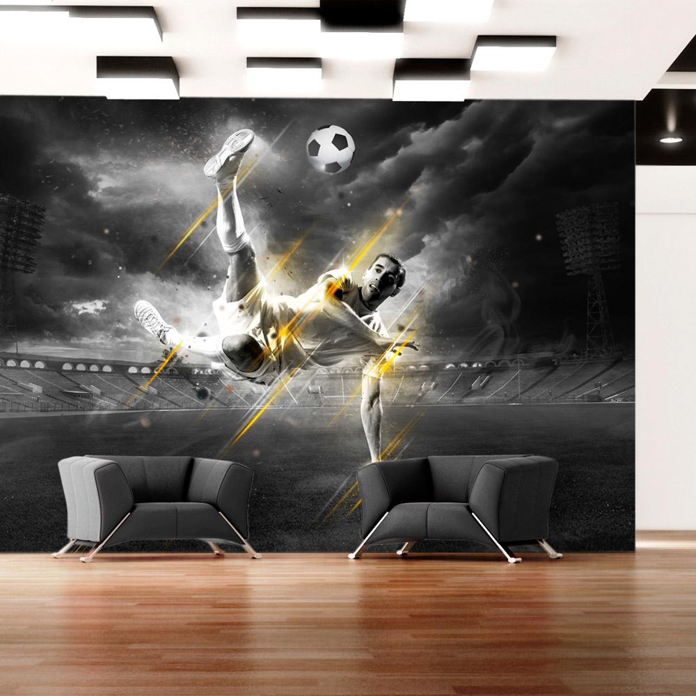 Fotobehang - Football legend