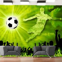Fotobehang - Goal !!! Victorie, premium print vliesbehang