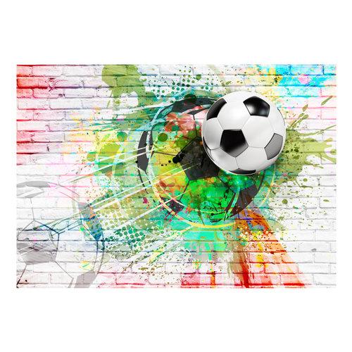 Fotobehang - Kleurrijke Sport