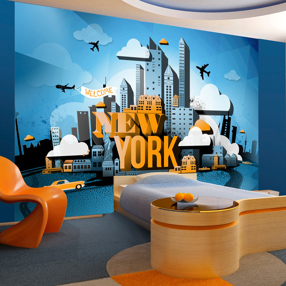 Fotobehang - New York - welkom