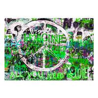 Fotobehang - Groene Graffiti
