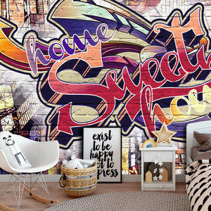 Fotobehang - Cool Graffiti