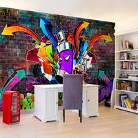 Fotobehang - Graffiti, premium print vliesbehang
