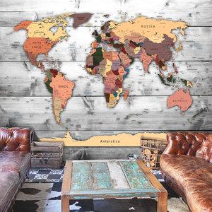 Fotobehang - Richting de wereld, premium print vliesbehang