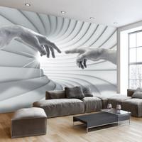 Fotobehang - lichte aanraking, premium print vliesbehang