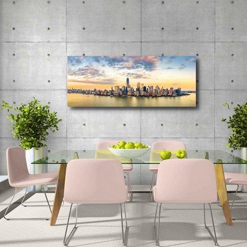 Karo-art Schilderij - New York panorama