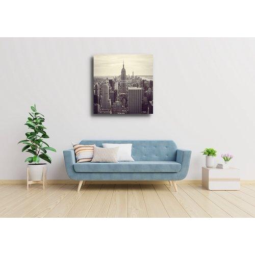 Karo-art Schilderij - Empire state building, New York