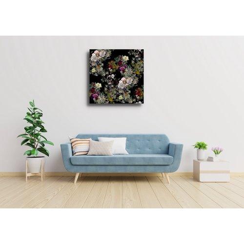 Karo-art Schilderij - Diverse bloemen (aanrader)