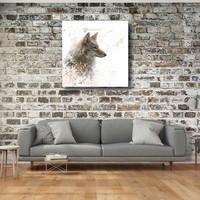 Karo-art Afbeelding op acrylglas - Wolf