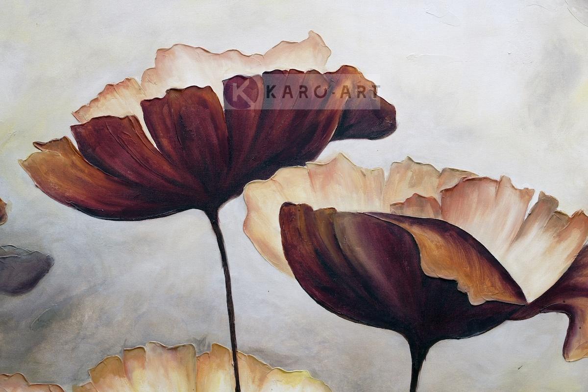 Afbeelding op acrylglas - Klaprozen