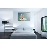 Karo-art Schilderij - Engel in de wolken