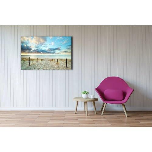 Schilderij - Duik in de Noordzee