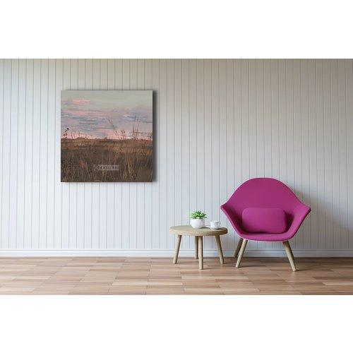 Karo-art Afbeelding op acrylglas -  Verlaten landschap