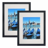 Schilderij - Fotolijst, set van 2, 26x34