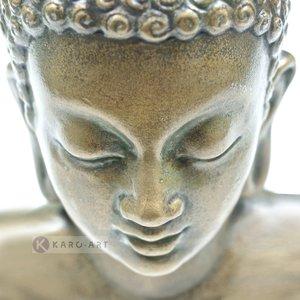 Karo-art Schilderij - Denkende Boeddha