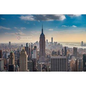 Karo-art Schilderij - Empire State Building New York City