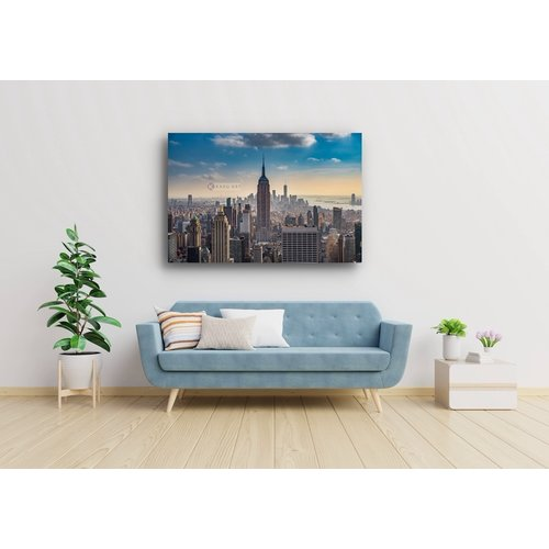 Karo-art Schilderij - Empire State Building New York City