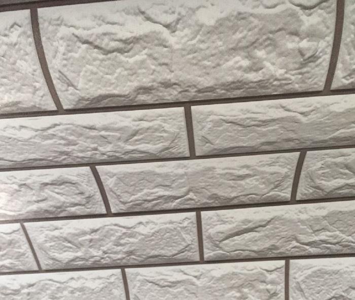 Fotobehang - Zelfklevende folie, witte stenen