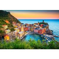 Karo-art Schilderij  - Ligurië, Italië , Multikleur , 3 maten , Premium print