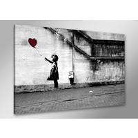 Karo-art Schilderij - Hope, er is altijd hoop. Banksy