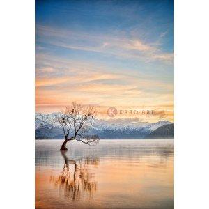 Karo-art Schilderij - Meer Wanaka Otago, Nieuw-Zeeland
