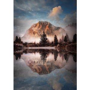Karo-art Afbeelding op acrylglas - Prachtig Landschap