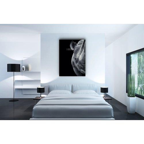 Karo-art Afbeelding op acrylglas - Neushoorn