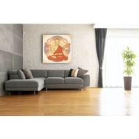 Karo-art Schilderij - Boeddha Mandala