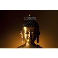 Karo-art Schilderij - Kalme Boeddha